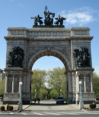 Brooklyn Soldiers and Sailors Memorial Arch at Grand Army Plaza
